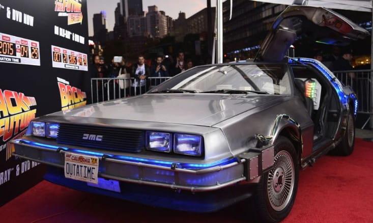 Back To The Futrure 1981 DeLorean