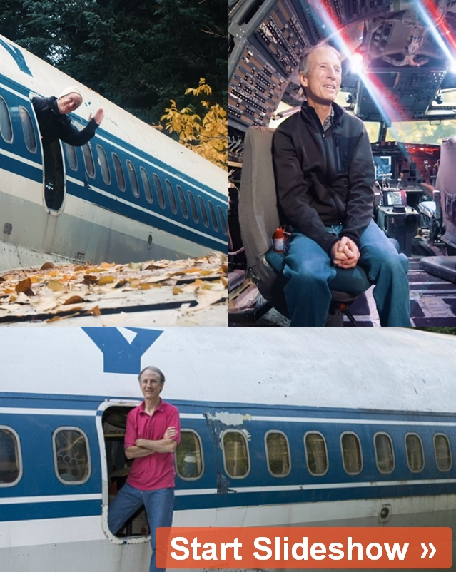 Man Buys Airplane And Turns It Into A Home In The Woods