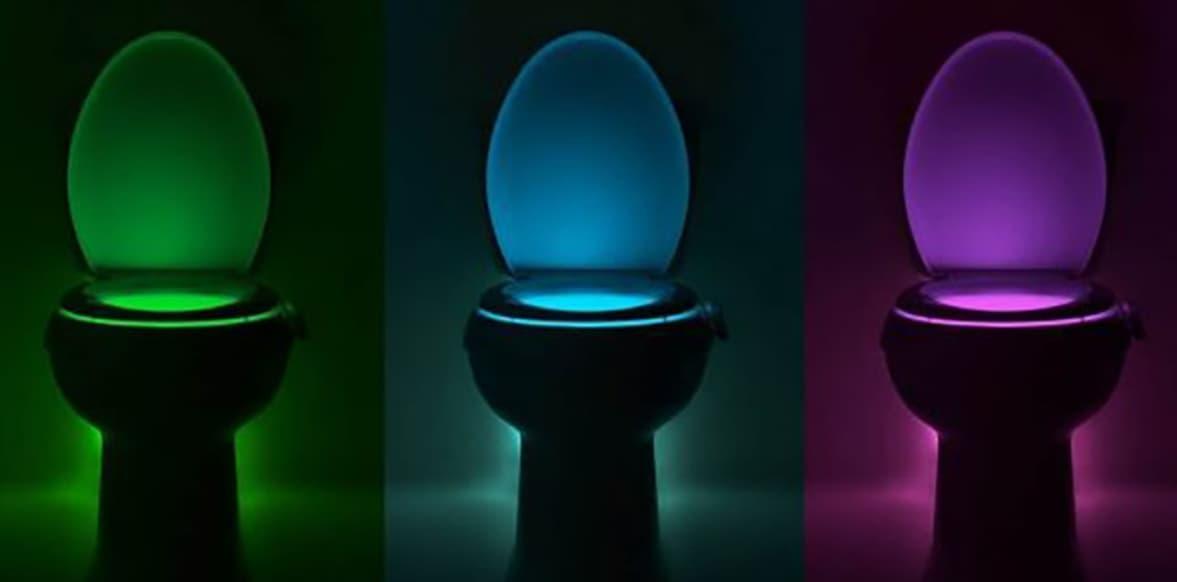 Glowbowl Fresh Transform Your Toilet Into A Nightlight