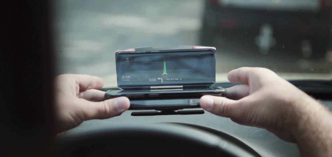 VIZR Transforms Your Smartphone Into A Safe Driving Display