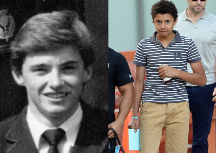 Hugh Jackman Oscar Maximilian Jackman Age 17