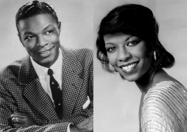 Nat King Cole And Natalie Cole In Their 20s