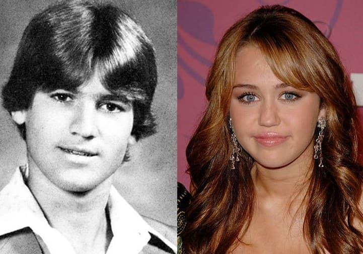 Billie Ray Cyrus Miley Cyrus Age 16