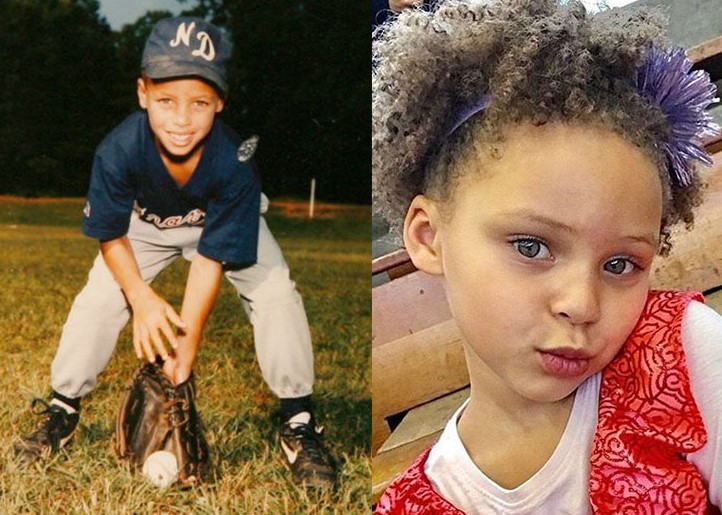 Stephen Curry Riley Curry Childhood