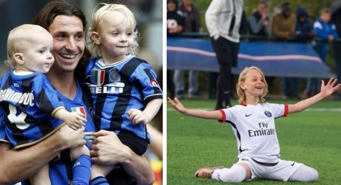 Maximilian Ibrahimovic Zlatan Ibrahimovics Son