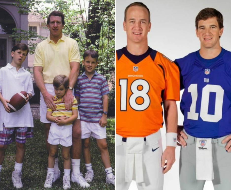 Peyton Eli Manning Archie Mannings Sons