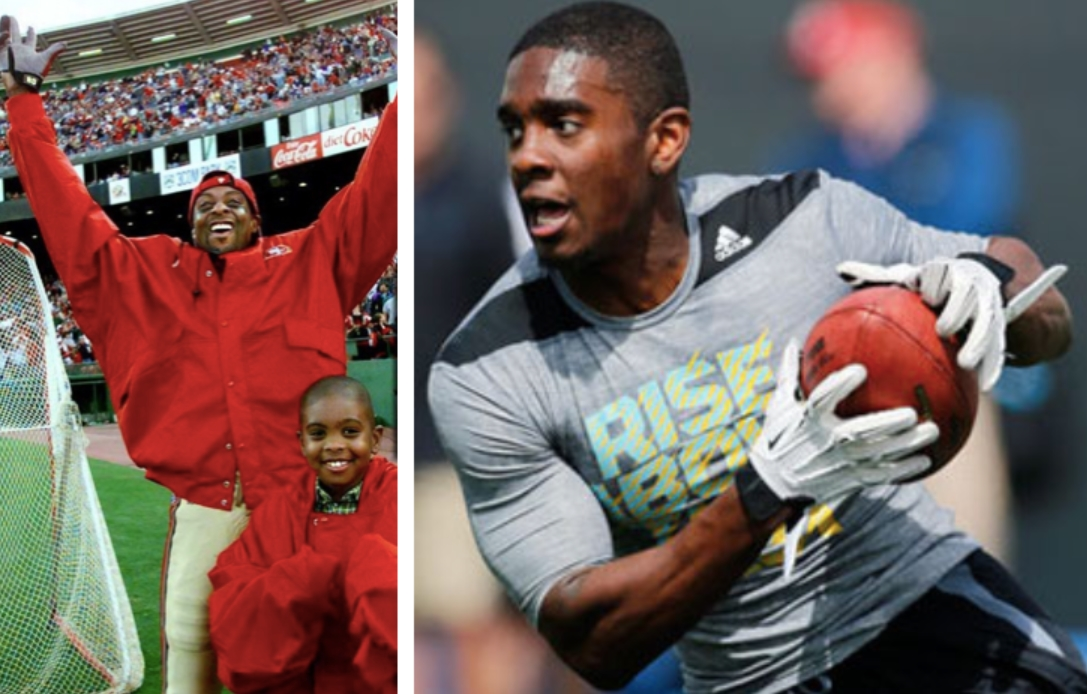 Jerry Rice Jr. Jerry Rices Son