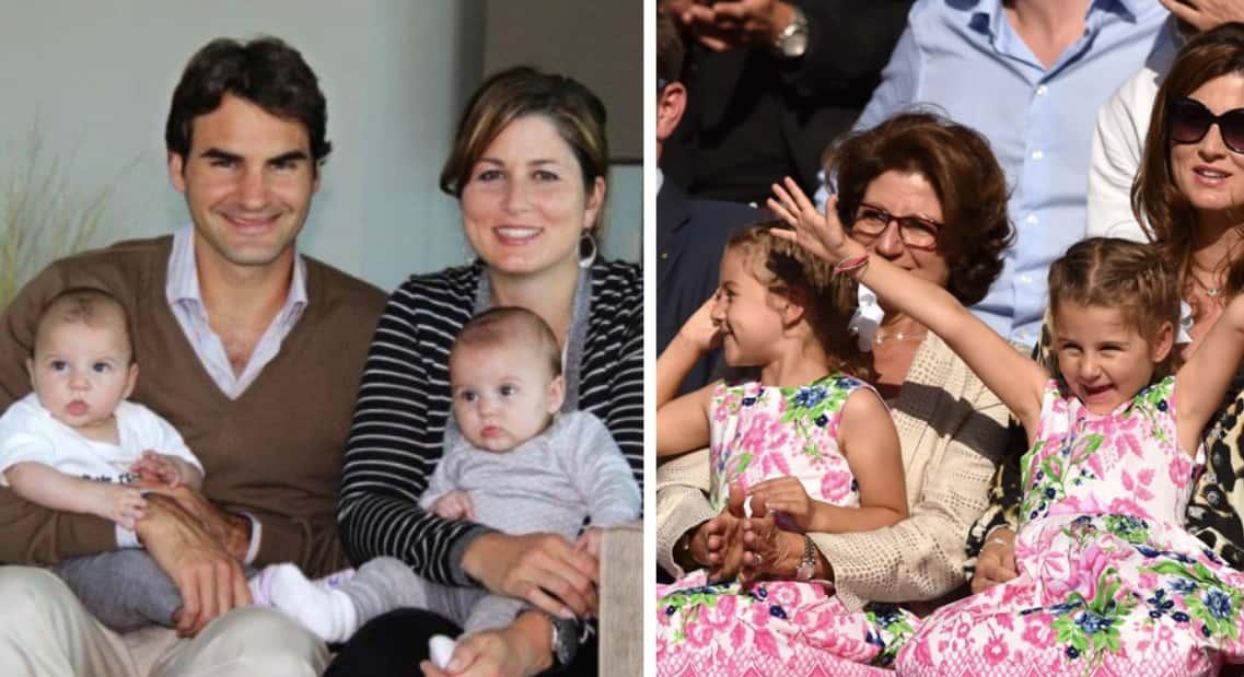 Myla Rose Charlene Riva Federer Roger Federers Daughters
