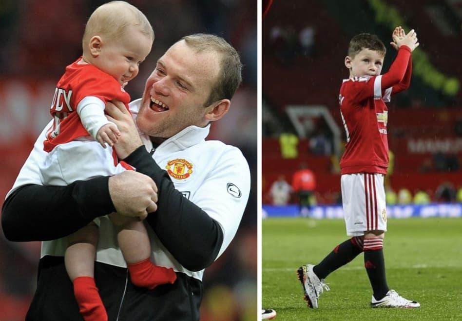 Kai Wayne Rooney Wayne Rooneys Son