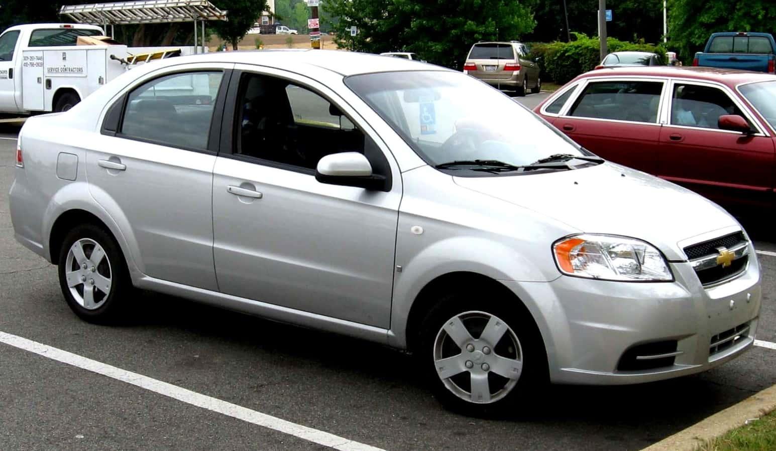 2010 Chevy Aveo