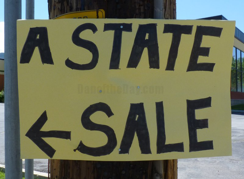 A State Is For Sale