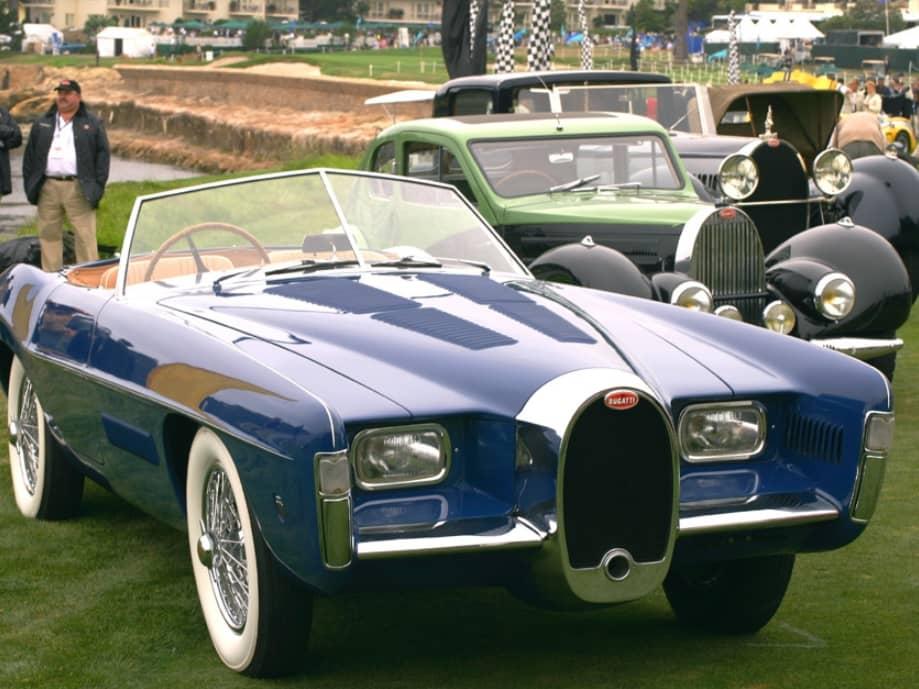 Bugatti 101 Exner Ghia