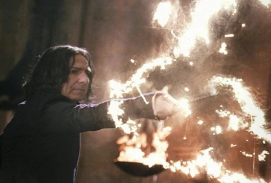 He Established Many Spells And Curses When Still Being A Student