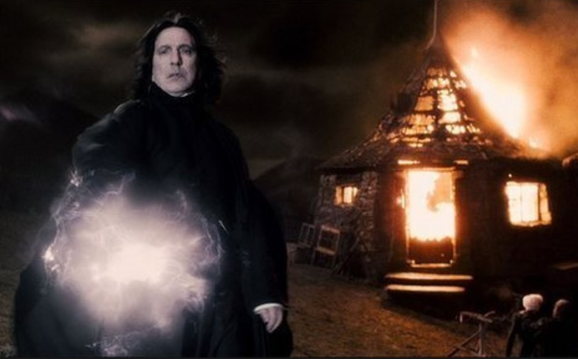 He Was The Only Death Eater Who Could Conjure A Patronus