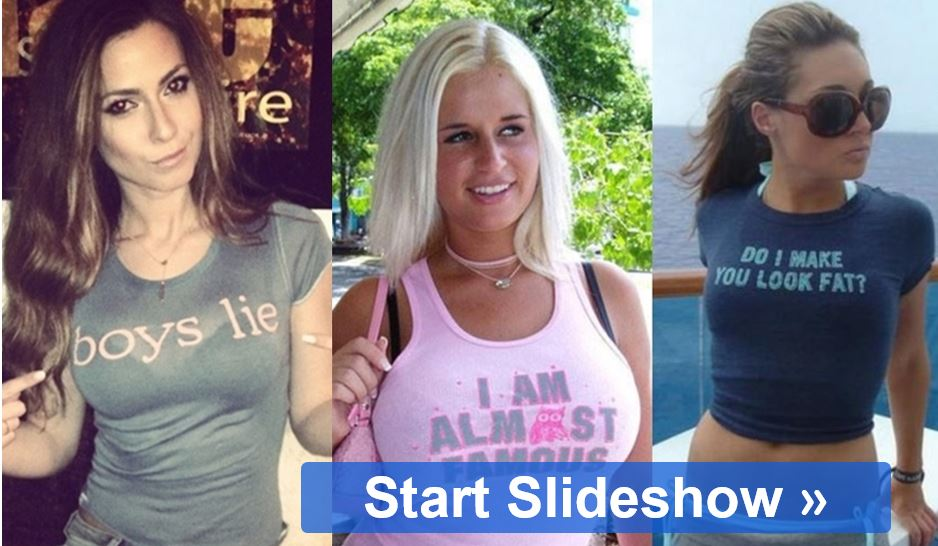The World's Most Hilarious T Shirt Designs We Can See Online