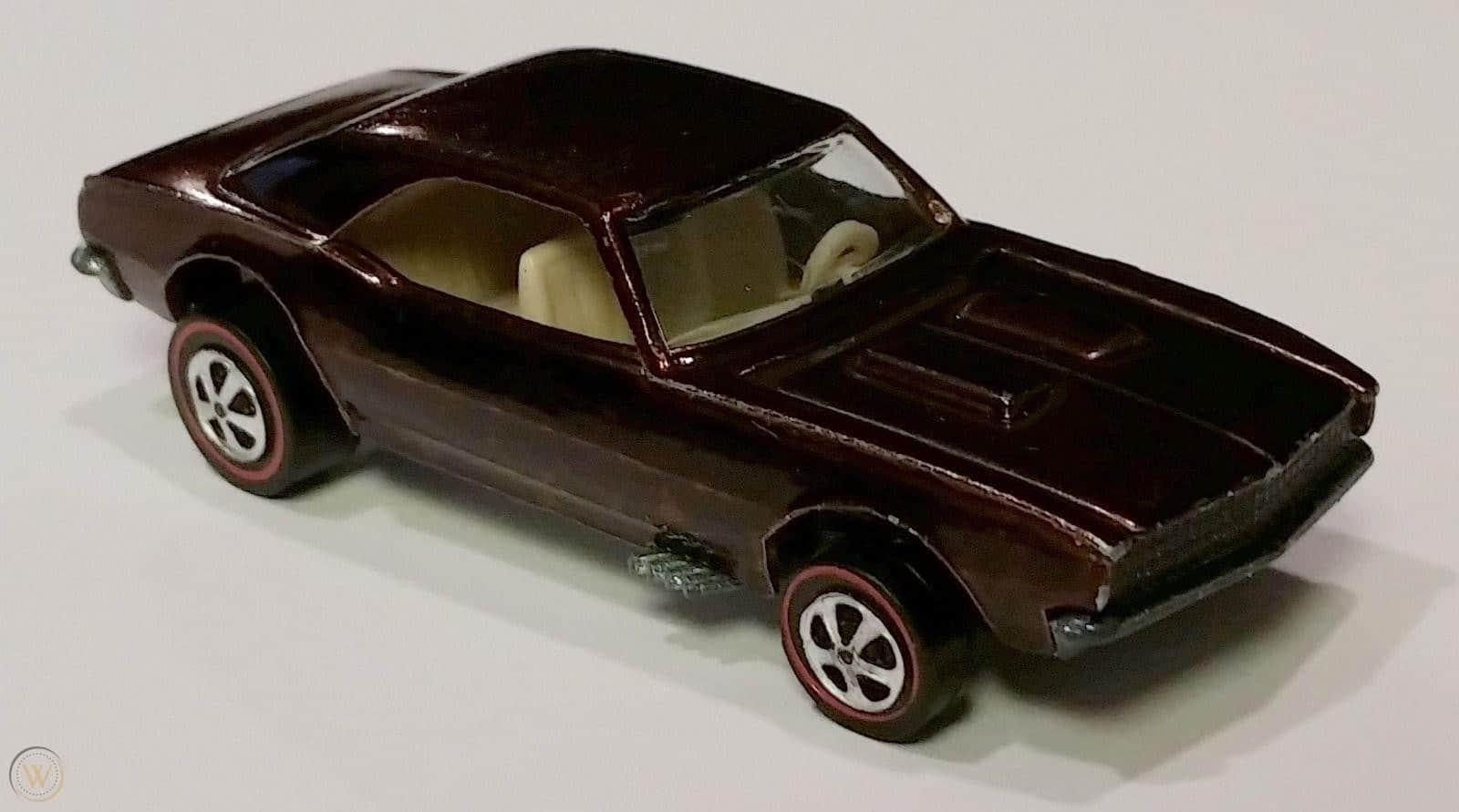 Custom Camaro In Brown From 1968 $3,000