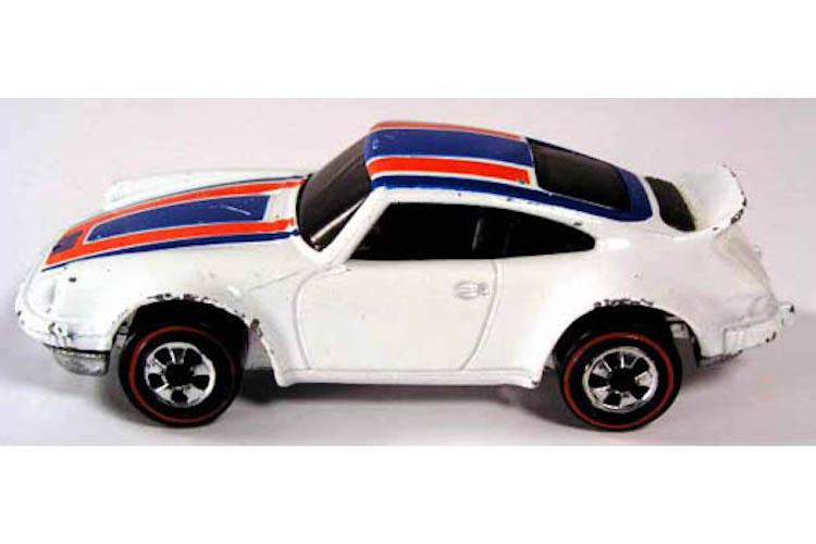 White Porsche Carrera:P 911 From 1975 $1,000