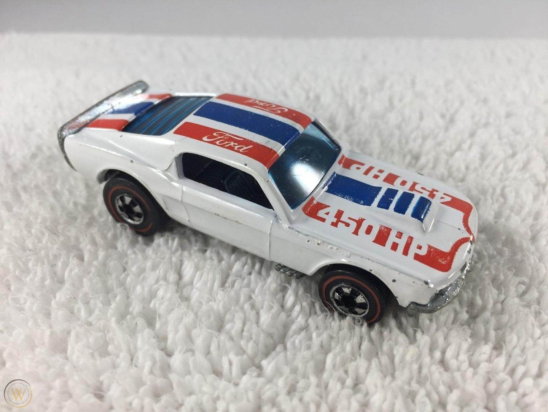 White Mustang Stocker From 1975 $1,300