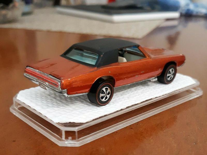 Orange Custom T Bird From 1968 $1,350