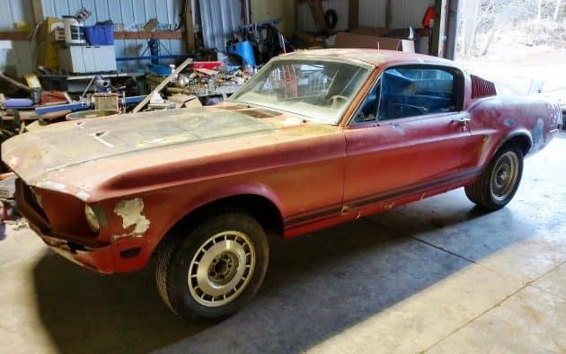 #50 1968 Mustang GT