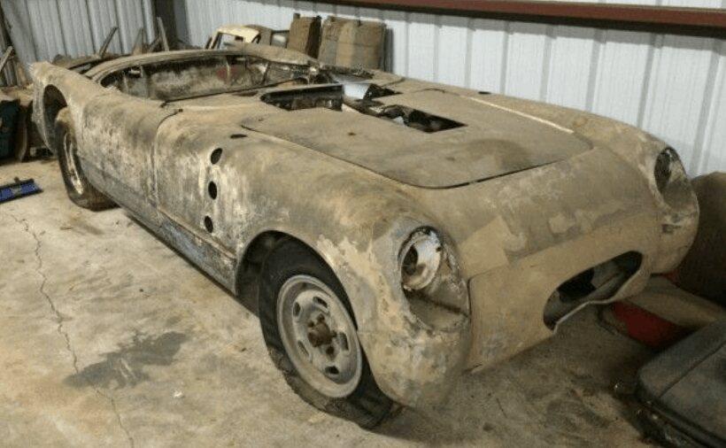43. 1954 Corvette