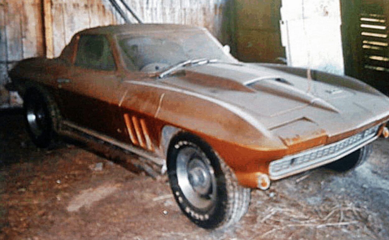 42. 1966 Corvette Coupe