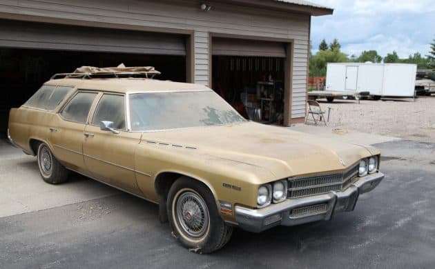 36. 1971 Buick Estate Station Wagon