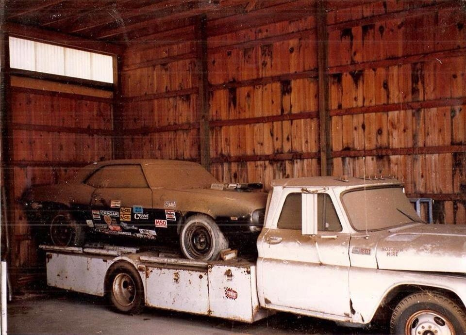 35. Chevy Race Car