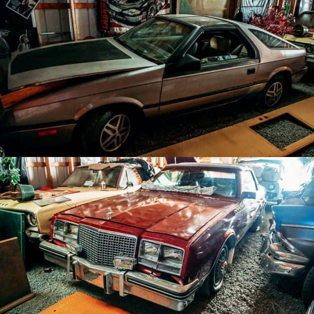 22. 1983 Buick Riviera & Chrysler Daytona