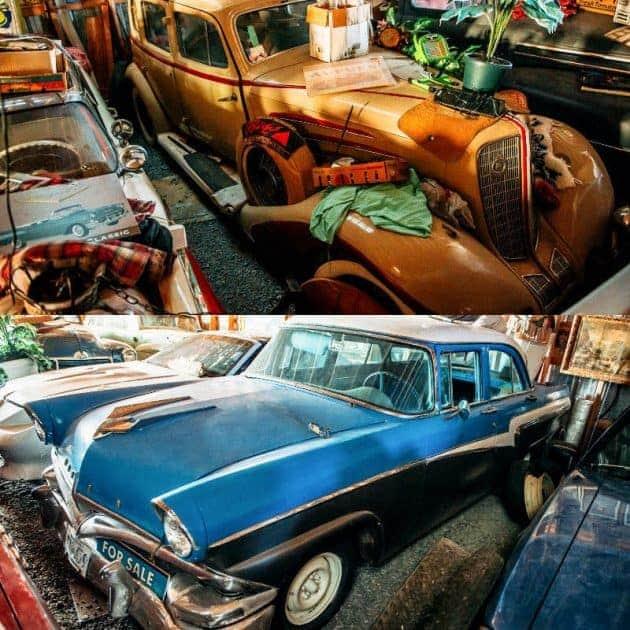 21. 1934 Auburn & Ford Fairlane