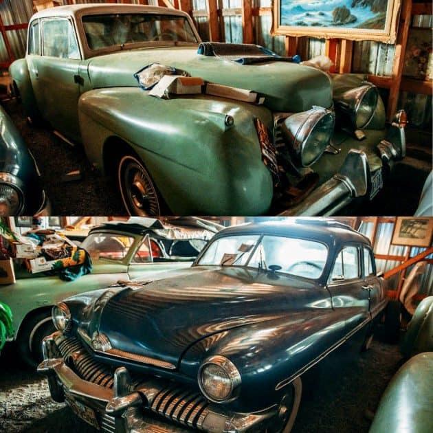 13. 1951 Lincoln Convertible