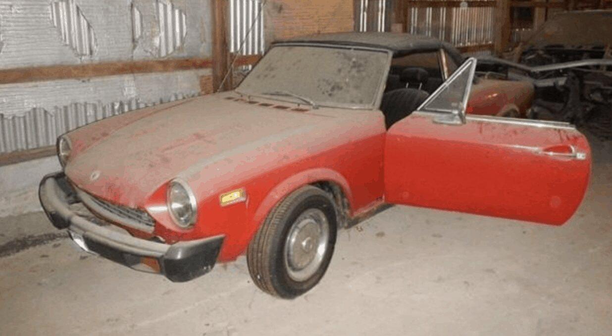8. 1977 Fiat 124 Spider