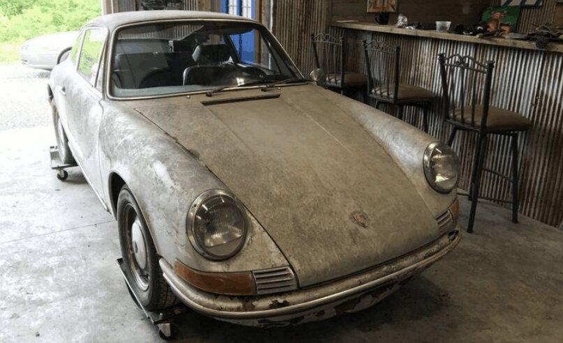 5. 1969 Porsche 912