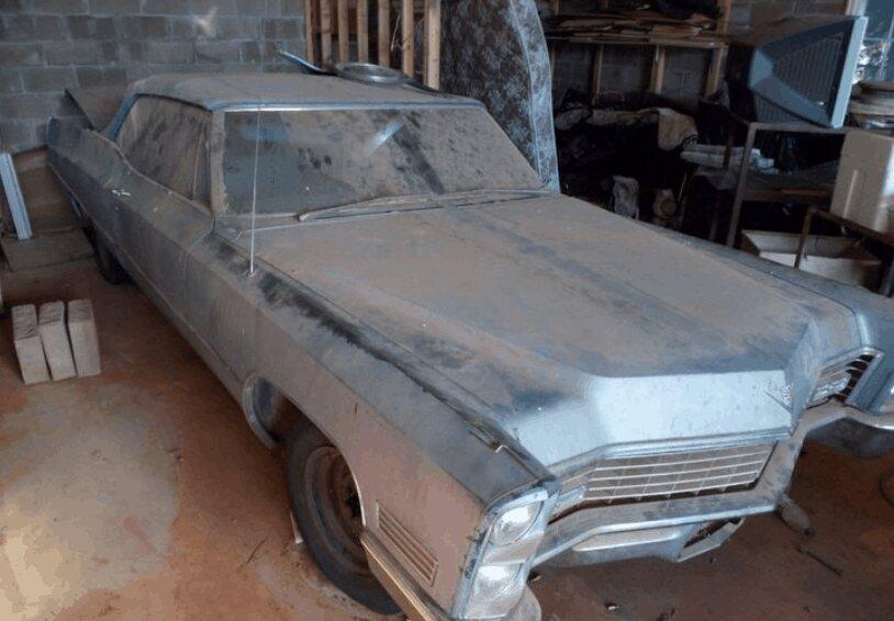 3. 1967 Cadillac Deville Convertible