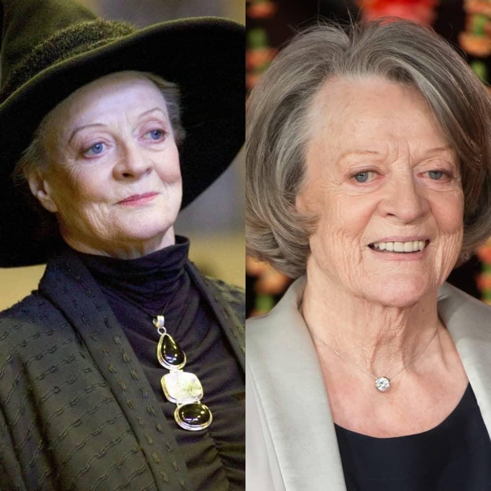 1. Minerva McGonagall Maggie Smith