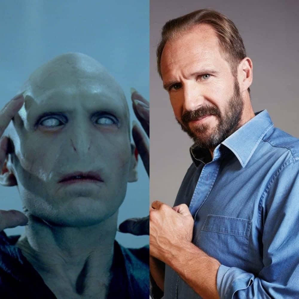 25. Lord Voldemort Ralph Fiennes